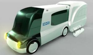 prototipo ambulancia futuro