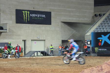 Moto Freestyle Event dins al Palau Sant Jordi