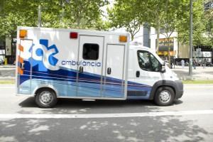 ambulancia ambulàncies catalunya