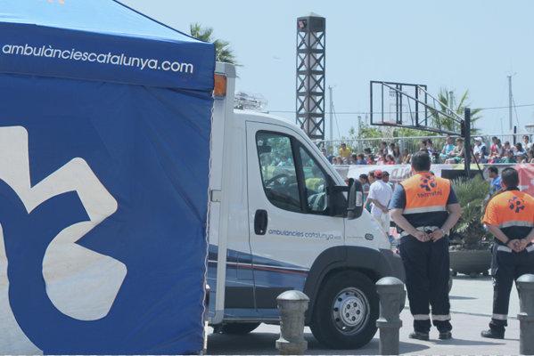 ambulàncies catalunya seguridad eventos