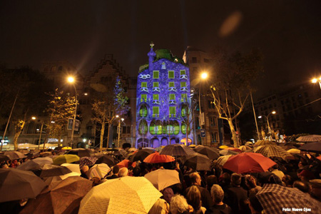 ambulancia eventos culturales mapping casa batlló