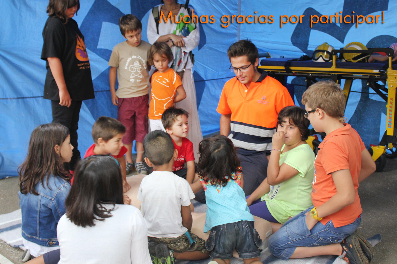 talleres primeros auxilios niños ambulancies catalunya