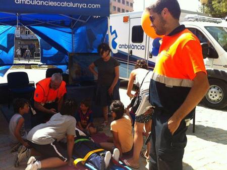 ambulancia festa major sants