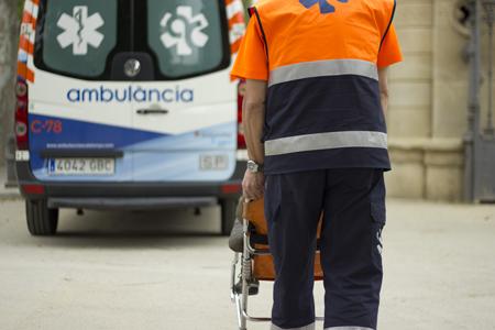 Ambulancia para traslado pacientes