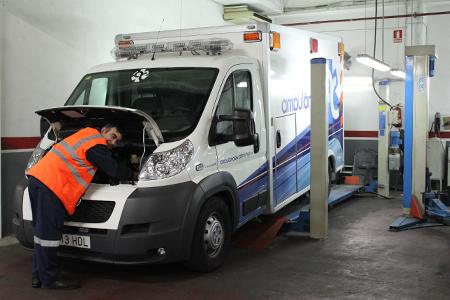 mecánico ambulancia Catalunya