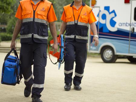 Servicios de transporte sanitario de Ambulàncires Catalunya a tu disposición