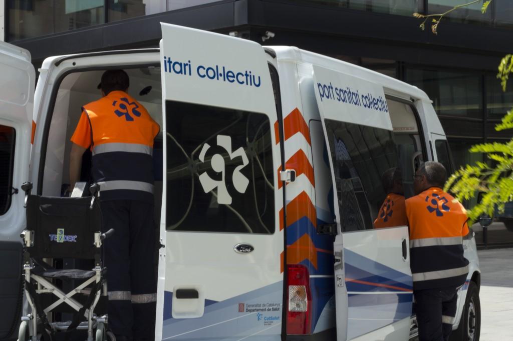 ambulancia atención cliente barcelona