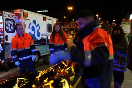 ambulancia rodaje barcelona cortometraje