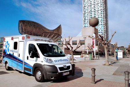ambulancias eventos