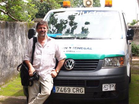donación ambulancia acción senegal