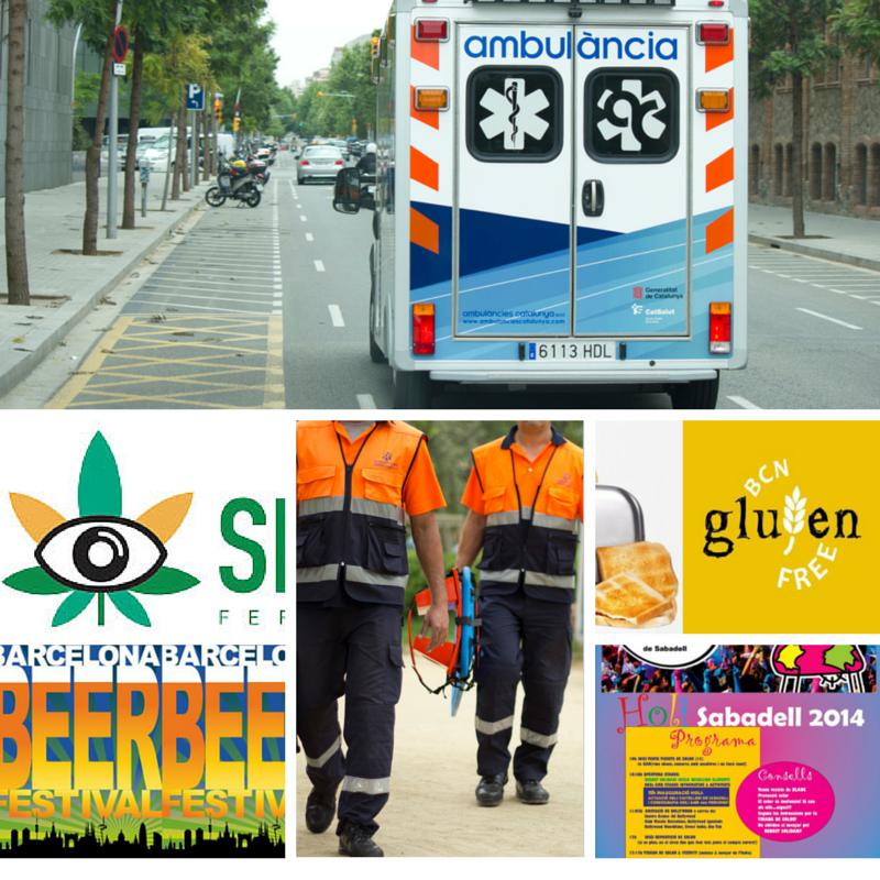 ambulancias eventos barcelona