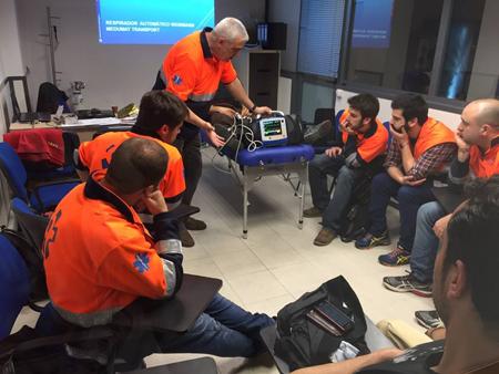 ambulàncies catalunya formació interna