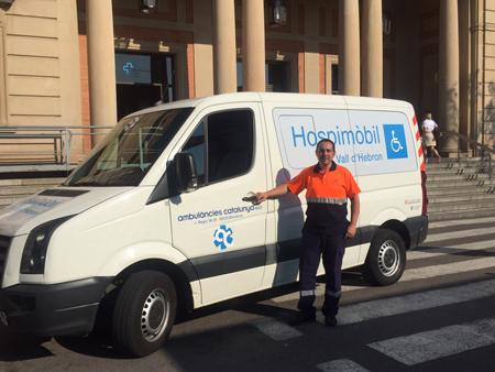 ambulancia hospital vall hebron
