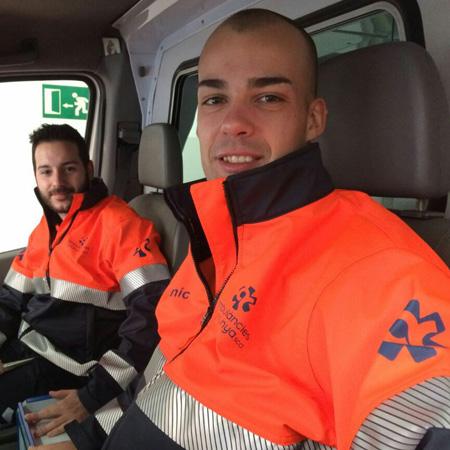 Ambulàncies Catalunya uniformes