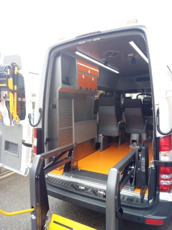 ambulancia sin camilla