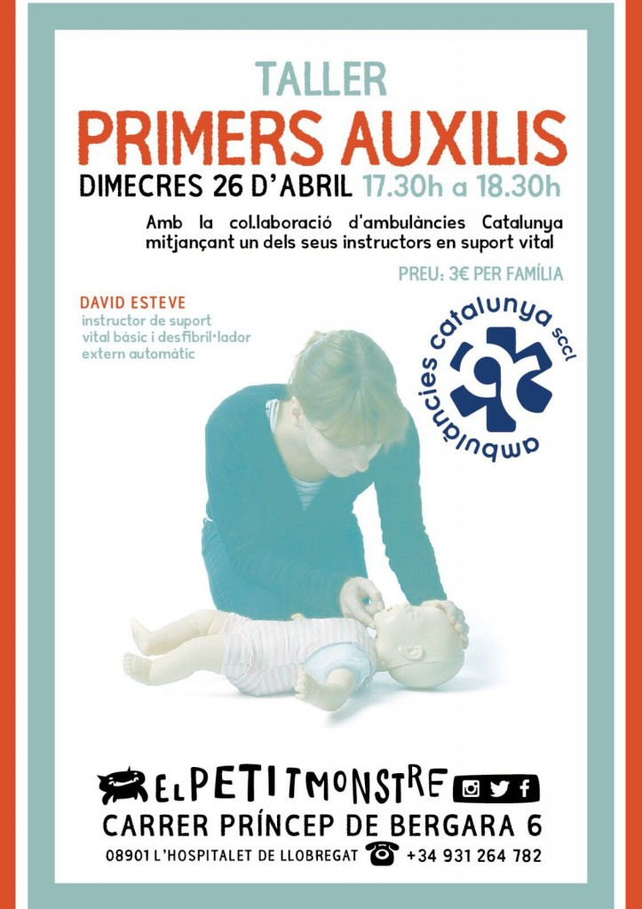 talleres primeros auxilios para padres
